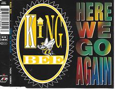 KING BEE - Here we go again CD SINGLE 4TR Swingbeat Pop Rap 1993 (ARIOLA)