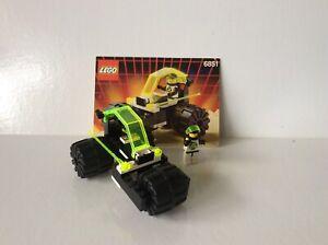 """VINTAGE LEGO #6851~ """"TRI-WHEELED TYRAX"""" ~ SPACE: BLACKTRON II ~ 1991"""