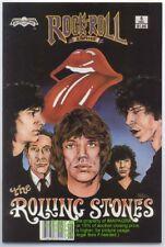 Rolling Stones Mick Jagger Keith Richard Rock Comic NM