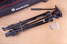 Manfrotto MVT502AM Tripod w/ MVH500A Fluid Head, Over-Shoulder bag and Tool