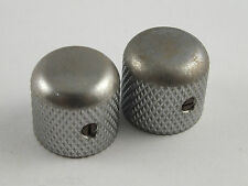 GOTOH Factory Aged Chrome Relic Dome Knobs for Telecaster Tele Electric Guitars