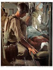 Set of 9 Combat Prints US Marine Corp Combat Collection Vietnam Series Military
