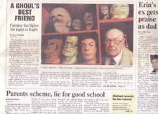 Newspaper THE DAILY NEWS April 28, 2000 - Front page article on FORREST ACKERMAN
