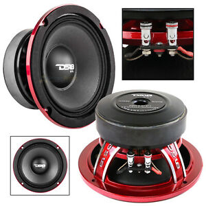 "DS18 PRO-EXL64 6.5"" Midrange Loudspeaker 600 Watts Max Power 4 Ohm Competition"