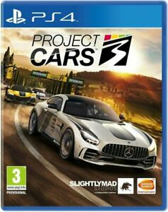Project Cars 3 PS4 New Sealed