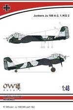 Owl 1/48 Junkers Ju-188A-2, 1./KG 2 # S4812