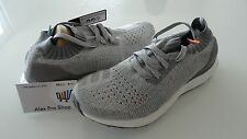 New Men's Size 8 Adidas Ultra Boost Uncaged Clear Grey Mid Gray Light BB4489