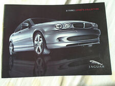Jaguar X Type Sports Collection brochure 2004.5 small format