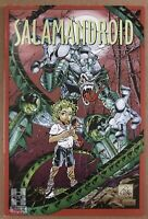 Hall of Heroes Presents Salamandroid #0 1996 Variant Harris comic book
