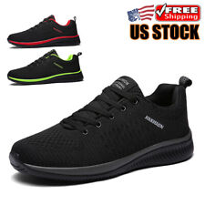 Men's Athletic Running Sneakers Outdoor Casual Walking Tennis Trainer Shoes Size