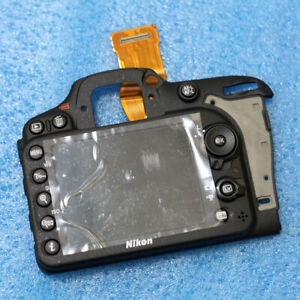 Complete Back cover assy with LCD screen  repair part For Nikon D7200 SLR