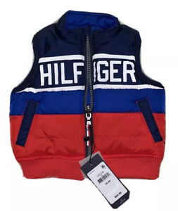 Tommy Hilfiger Puffy Vest Reversible 3M-6M