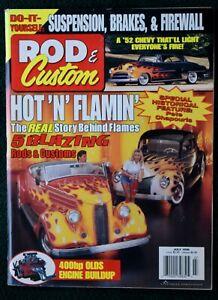 ROD & CUSTOM MAGAZINE - JULY 1998 - How To: Old Engine Rebuild