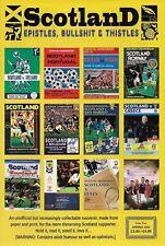 SCOTLAND EPISTLES FOOTBALL MAGAZINE #2 - TARTAN ARMY FANZINE / MAGAZINE
