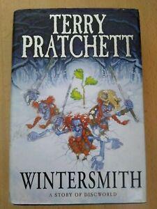 Terry Pratchett - Wintersmith. Discworld 1st Edition HB SIGNED RARE!