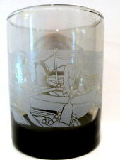 Tiki Boat Commemorative McDonald's Glass Hawaii Special Edition