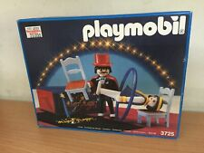 Playmobil Circo 3725 MAGO MISTER MAGIC Magician Circus Magic Show MIB, 1990