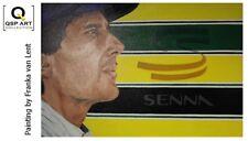 Coffee Mug Ayrton Senna (BRA) door Franka van Lent
