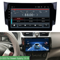 """10.1"""" Android 9.1 Head Unit Radio Stereo GPS WIFI For 13-18 Nissan Sentra Sylphy"""