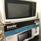 Danby Compact 0.7 Cu. Ft. 700W Countertop Microwave Oven in White photo