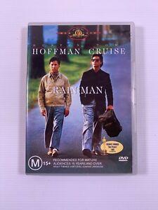 Rain Man (DVD, 2004) 1988 movie Dustin Hoffman Tom Cruise Region 4