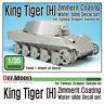 DEF Model 1/35 King Tiger Henschel Zimmerit Coating Decals Set for Dragon/Tamiya