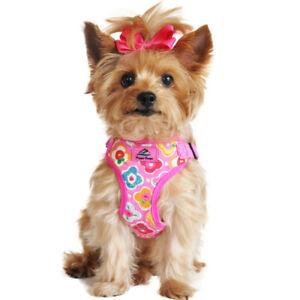 Doggie Design Wrap and Snap Choke Free Dog Harness - Maui Pink