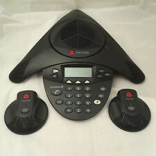 Polycom Soundstation 2 c/w 2 Extended Microphones