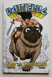 Battlepug Vol. 1 War On Christmas Image Graphic Novel Comic Book