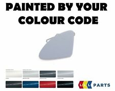 NEW BMW F30 F31 FRONT BUMPER TOW HOOK EYE COVER CAP PAINTED BY YOUR COLOUR CODE