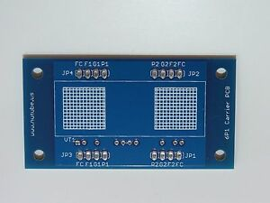 Blank Carrier PCB for Korg Nutube 6P1