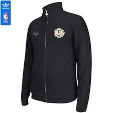 New adidas Originals Brooklyn Nets Fleece Track Jacket Size Medium D20266