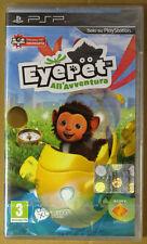 Eye Pet All'Avventura Psp Sigillato 1a Stampa Italiana con manuale