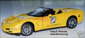 1/24 Franklin Mint Yellow 2003 Corvette Indy Festival Car S11E364
