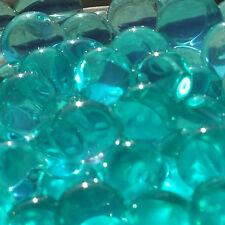 Turquoise Vase Filler Beads 4oz Bag Makes 3 Gallons - Teal Water Storing Gel