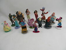 Huge Lot of Disney PVC Figurines Aladdin Brave Alice in Wonderland Peter Pan