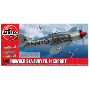 Airfix Hawker Sea Fury FB.11 'Export' (Scale 1:48) Plane Model Kit A06106