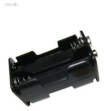 Batteriehalter 4x AA Batteriefach 4x Mignon QUADER LEDs