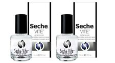 NEW IN BOX!!! Seche Vite Dry Fast Top Coat 14ml / 0.5oz x 2