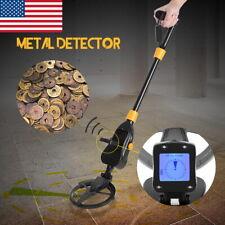 Waterproof Metal Detector Gold Digger Deep Sensitive Search Hunter Withlcd Display