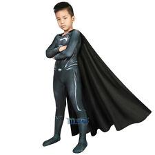 Justice League Superman Cosplay Kostüm Costume Outfit Kid Kinder Halloween v1