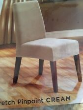 SureFit Stretch Dining Chair Cover Cream