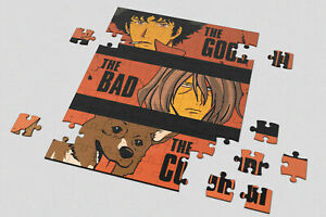 Heart 201/500/1000 Pieces Jigsaw Puzzles Cowboy Bebop The Good Spike The Bad Ein