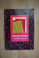 Literary Terms: A Practical Glossary von Moon auf Englisch Taschenbuch