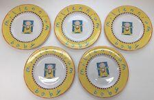 Set Of 5 Royal Doulton Millennium Baby Plates Fine China