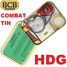 NEW BRITISH ARMY ISSUE & NATO BCB COMBAT SURVIVAL TIN KIT - SAS SF MARINES TA +