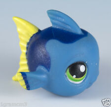 Littlest Pet Shop Fish #327 Blue With Green Eyes