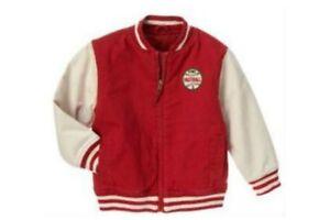 NWT Gymboree Baseball Champ Fleece Lined Varsity Jacket S(5-6)