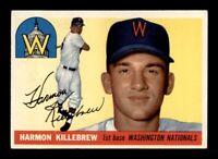 1955 Topps Set Break # 124 Harmon Killebrew EX-MINT *OBGcards*
