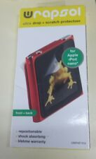 Wrapsol Front and Back Screen Protector for Apple iPod Nano - NEW